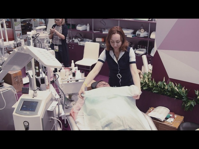 Компания Мэдисон - обрудование для парикмахерских и салонов красоты. Стенд Интершарм 2017