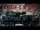 Russian Pantsir-S Goes Hunting In Syrian Skies