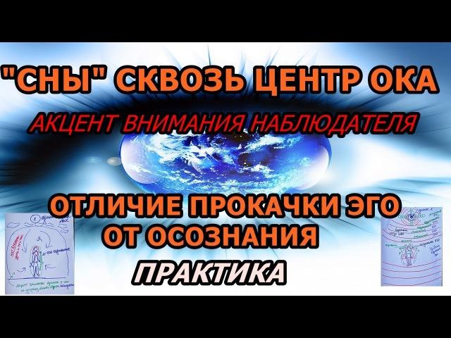 СНЫ СКВОЗЬ ЦЕНТР ОКА ОТЛИЧИЕ ПРОКАЧКИ ЭГО ОТ ОСОЗНАНИЯ ПРАКТИКА 2