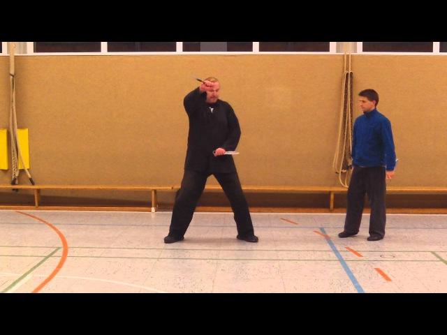 Doppel - Dolche - Anwendungen - Seven Star Mantis Kung Fu - M-Kung-Fu.de