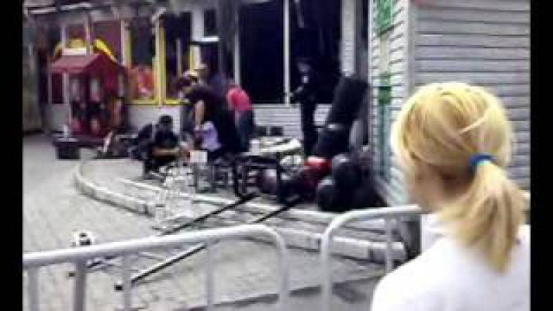 ТВК Славянский Базар после пожара! 23 09 2009