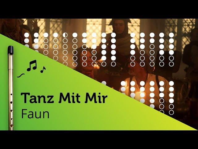 Tanz Mit Mir (Faun) on Tin Whistle D tabs tutorial