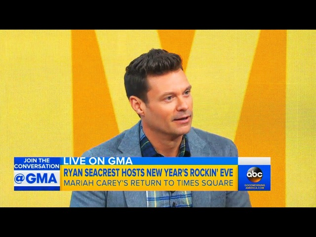 Ryan Seacrest Talks Mariah Carey's NYE Return What She'll Sing!