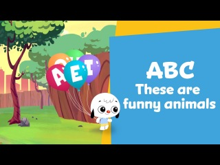 The Vowels of Funny Animals | Alphabet Music Video | ABC PlayKids