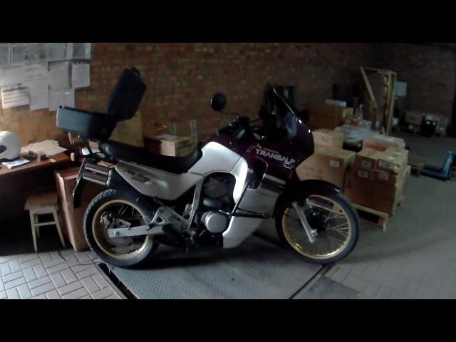 МОТОБАЗА. Отправка участнику группы в г. Cимферополь мотоцикл HONDA TRANSALP . WWW.MOTOBAZA.BIZ