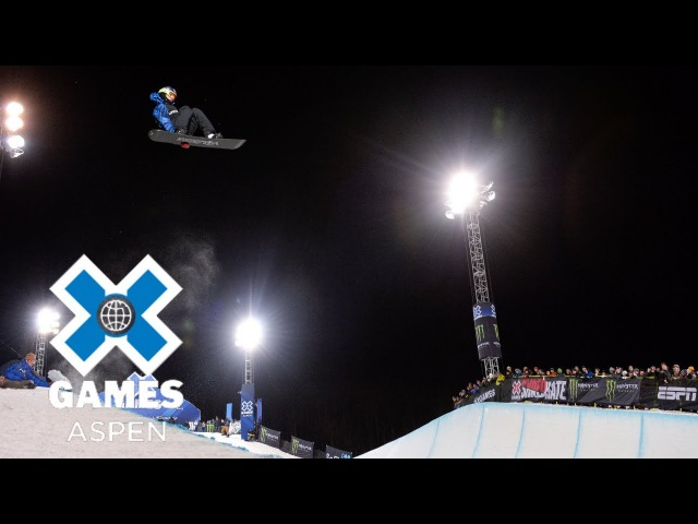 Scotty James wins Men's Snowboard SuperPipe silver X Games Aspen 2018