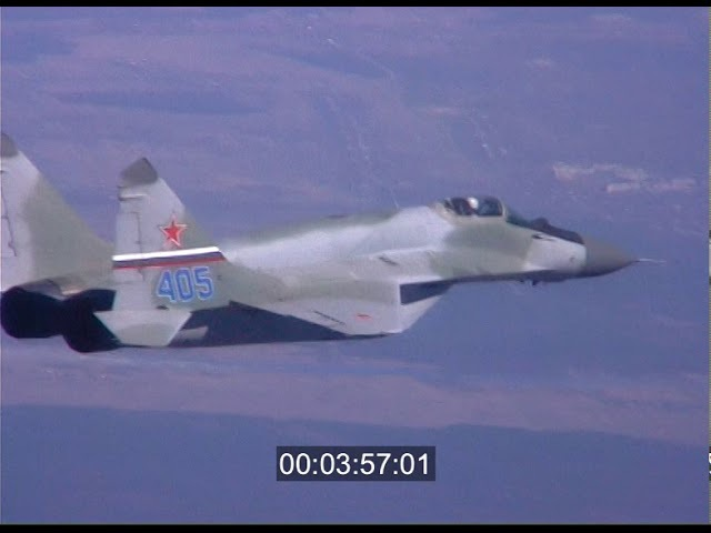 MiG29 SMT (video footage). МИГ - 29СМТ.