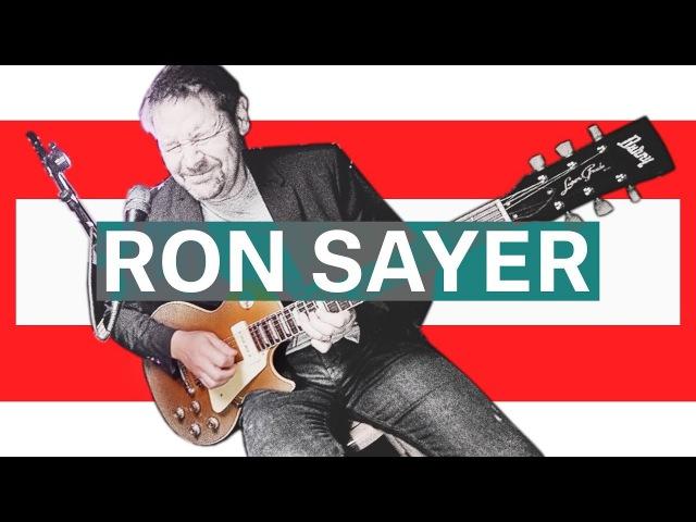 Ron Sayer в «Мире Музыки». Гитара Burny.