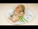 Мясной Террин свинина индейка курятина бекон рецепт на праздничный стол