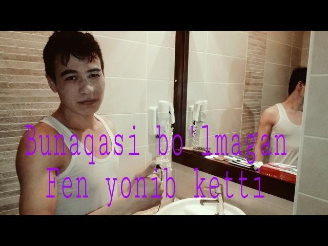 BIRINCHI MARTA KOMIK VIDEO TAYYORLADIM(Fen yonib ketti) 😂😂Eşşek şakası