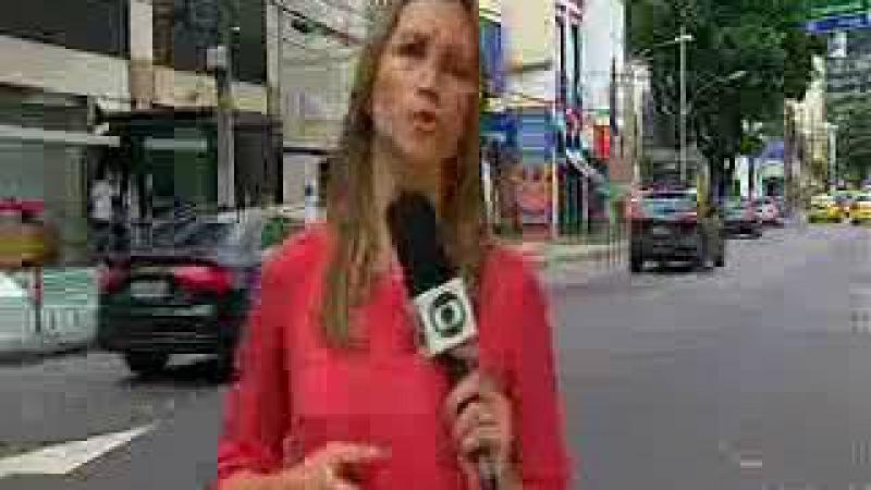 Homens armados com fuzis explodem agência bancária em Botafogo