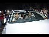 RIP Sridevi: Shah Rukh Khan and Gauri Khan at Anil Kapoor's house