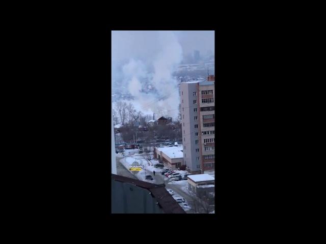 Пожар на улице Большой
