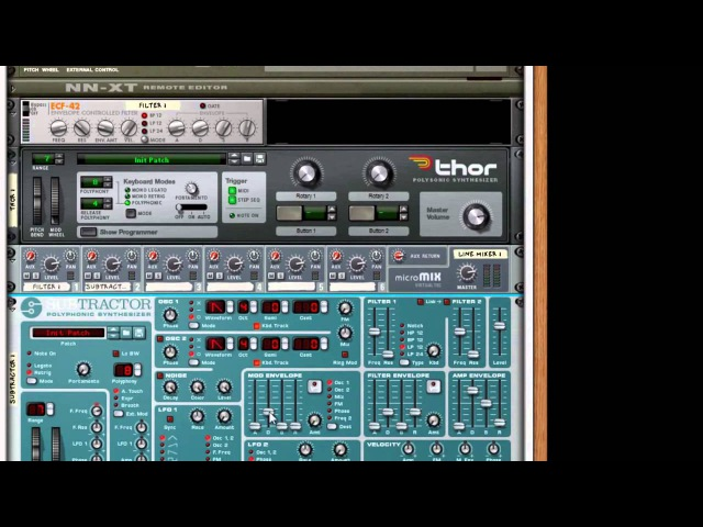 Creating an Ambient Pad in Reason Part 1