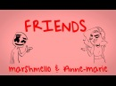 Marshmello Anne-Marie - FRIENDS (Lyric Video) *OFFICIAL FRIENDZONE ANTHEM*