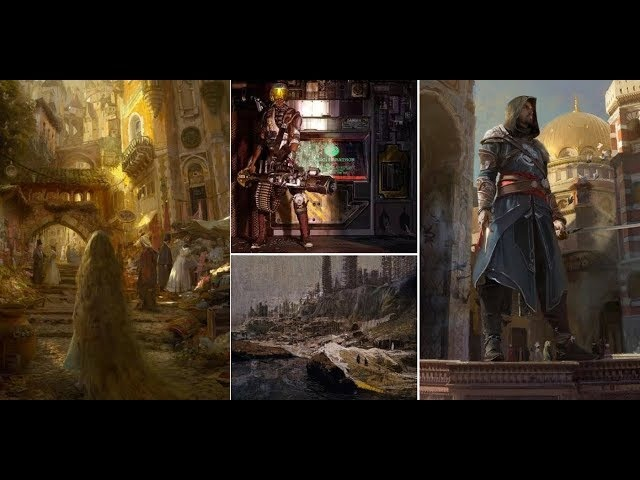 Interview With Craig Mullins During IAMAG MAster Classes 2016 Excerpt