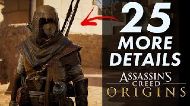 25 More INSANE Details in Assassin's Creed: Origins