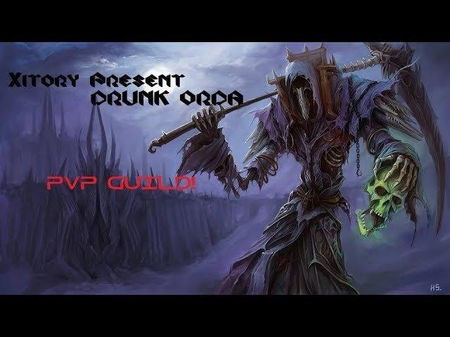 PvP Guild Пьяная Орда vs PvP Guild Теневой рейд