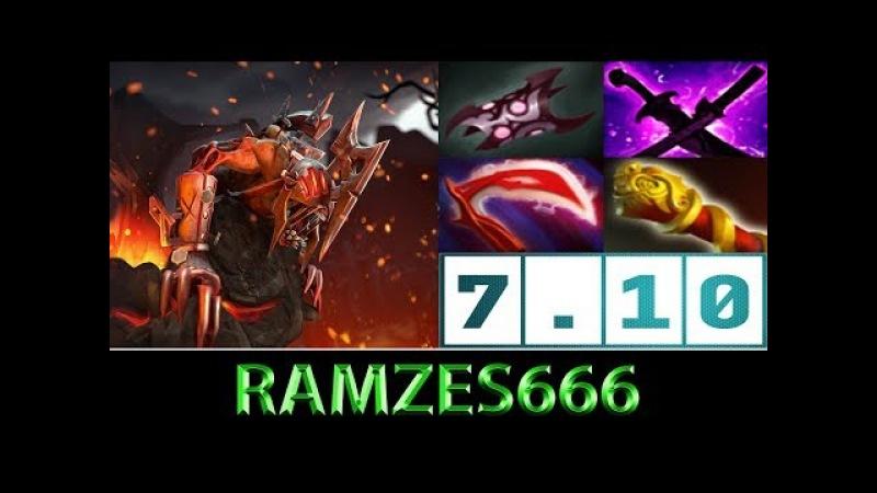 RAMZES666 [Lifestealer] Farm Efficiency ► Dota 2 7.10