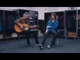 Mick Jagger &amp Keith Richards acoustic version honky-tonk Woman 2016