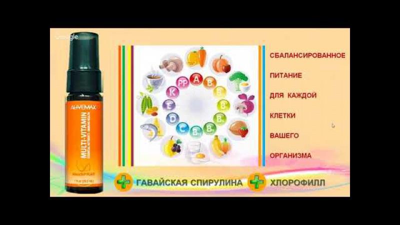 Multivitamin (Мультивитамин) продукция AliveMax