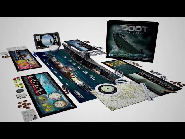 UBOOT TBG - Kickstarter Trailer (launch 22 January)