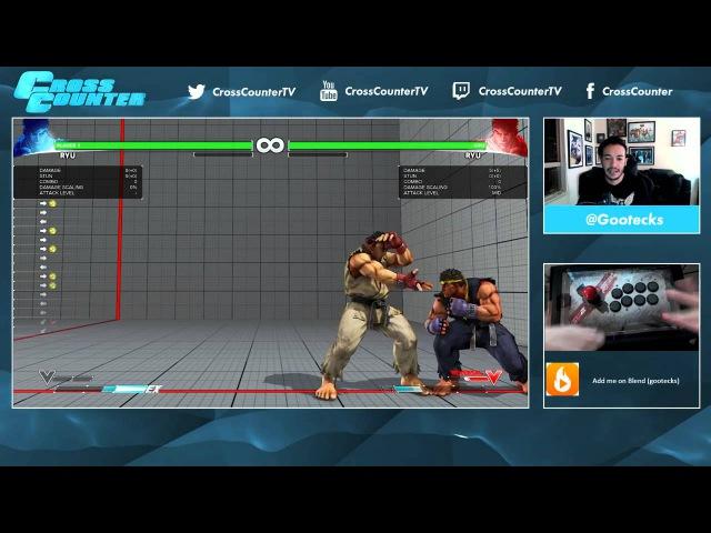 Street Fighter V 101. Обучение основам для новичков вместе с @gootecks. Часть 2. Защита (Ryu)