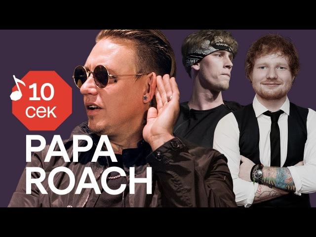 Узнать за 10 секунд PAPA ROACH угадывают треки Linkin Park Kendrick Lamar MGK и еще 32 хита