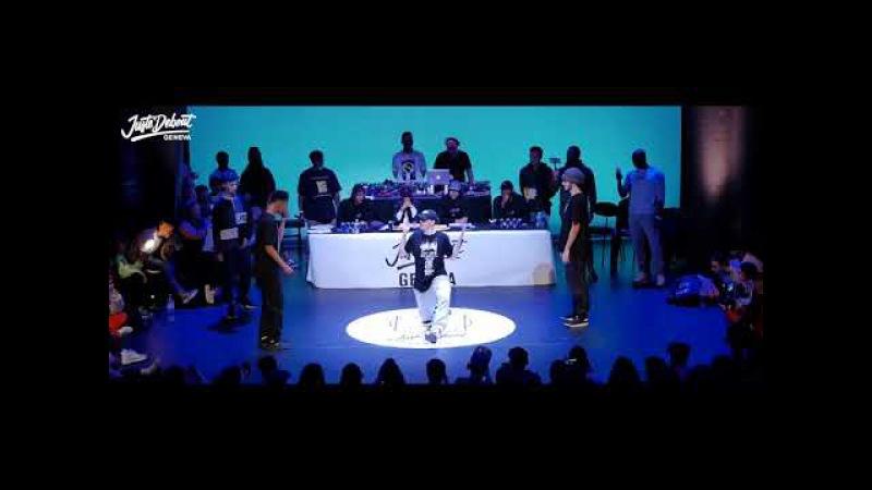 Juste Debout Suisse 2018   Hip Hop Final   Cooper Voldo Vs LosDiablosDeLaMuerte