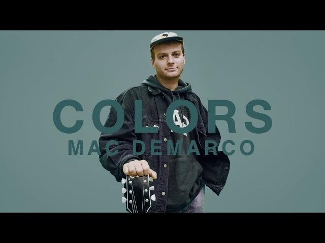 Mac Demarco Still Beating A COLORS SHOW