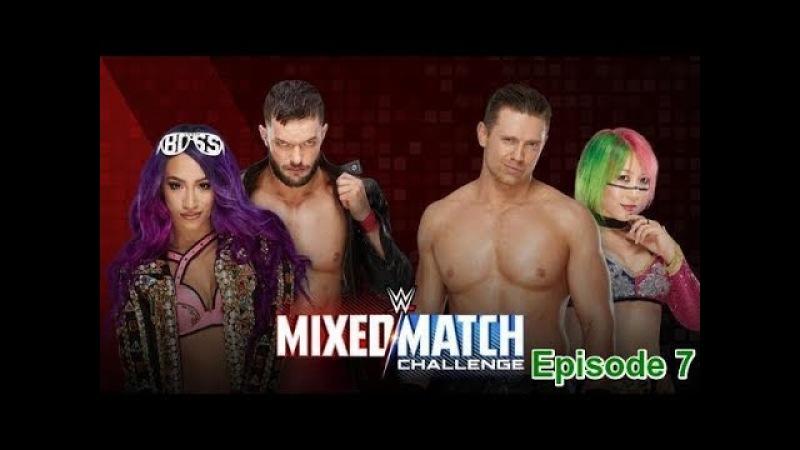 (Wrestling Premium) WWE Mixed Match Challenge The Miz , Asuka VS Finn Balor Sasha