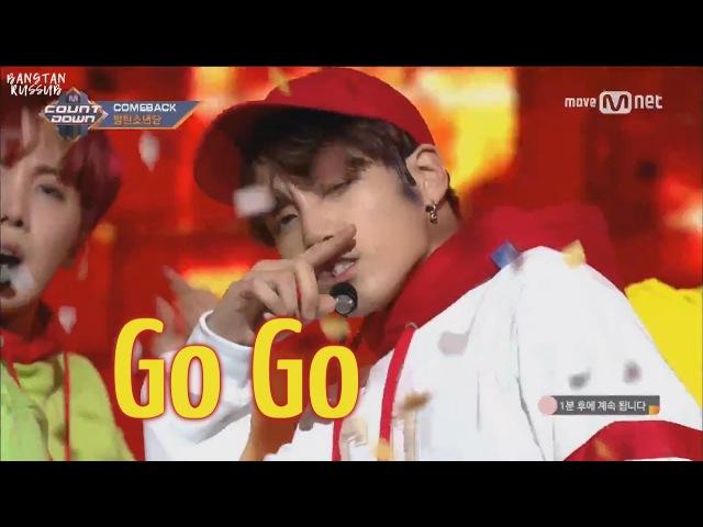 [RUS SUB] BTS - Go Go