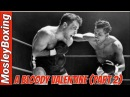 The Saint Valentine's Day MASSACRE - Sugar Ray Robinson vs Jake LaMotta Full Fight In HD ( 2 Of 2)