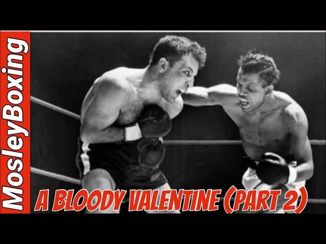 The Saint Valentine's Day MASSACRE Sugar Ray Robinson vs Jake LaMotta Full Fight In HD 2 Of 2
