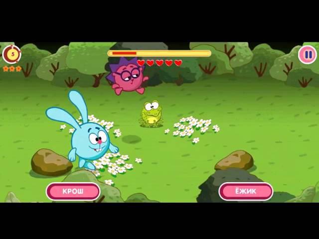 Смешарики Обещание ► Игры на андроид 1 Серия Бег по лесу Smeshariki Promise ► Games on android