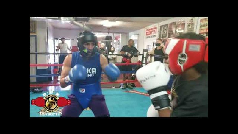 (SPAR WARS) Shakhram Giyasov vs Zequan Peterton