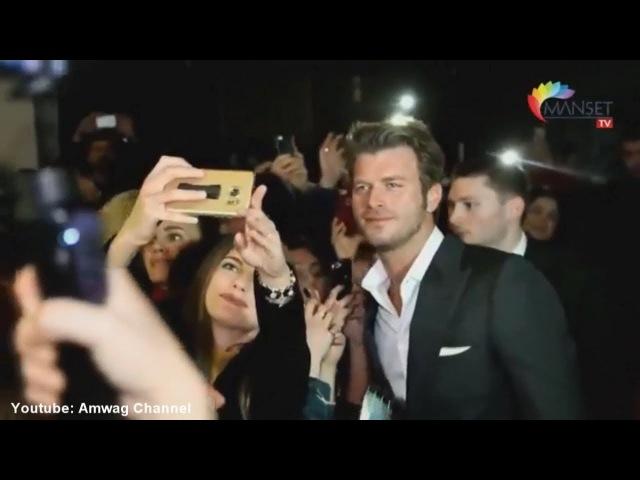Reportage with Kıvanç Tatlıtuğ in Hadi Be Oğlum Vienna gala
