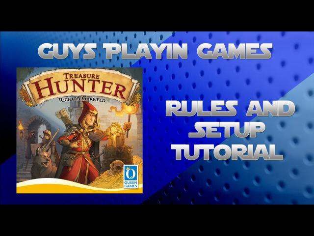 GPG - How To Play Treasure Hunter, by Richard Garfield