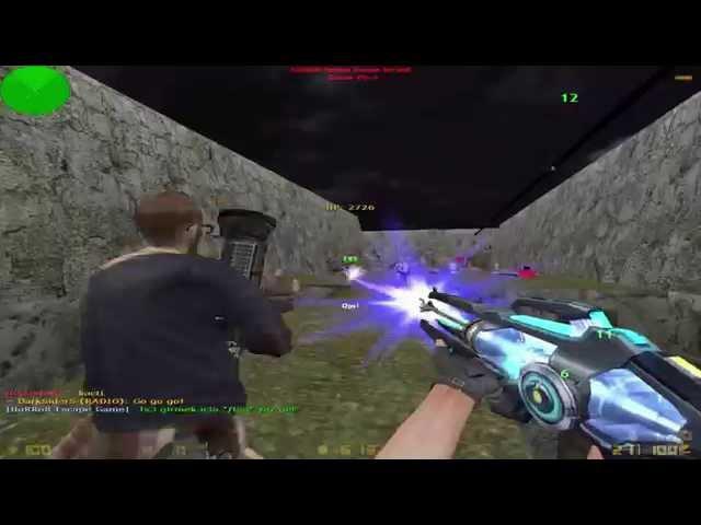 Counter Strike 1.6 ( Zombie Escape Mod ) Map : ze_jurassicpark2_lg
