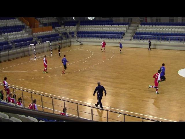 Динас 7-3 Август-Бел. Мини-футбол 20172018. 11-й тур. Высшая лига (21.01.2018)