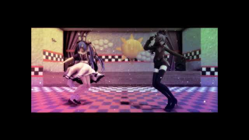 【MMDxFNAF】Umbrella Remix (Toy Bonnie And Bonnie)