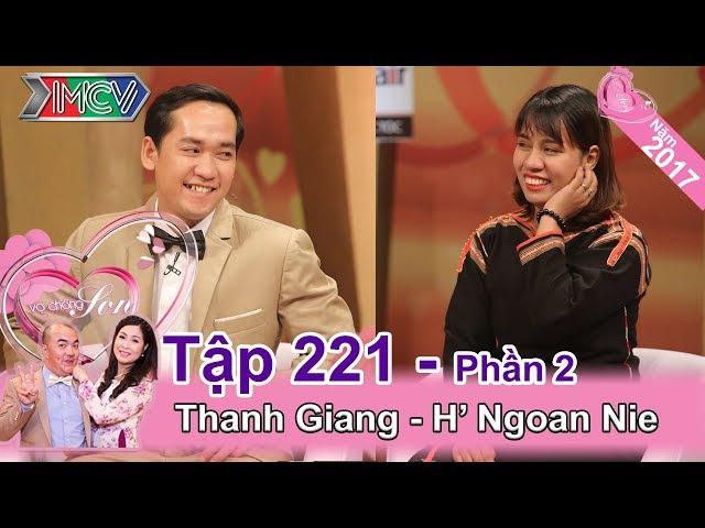 Hồng Vân 'trố mắt' nghe tục 'bắt chồng' của cô dâu Ê Đê | Thanh Giang - H' Ngoan Nie | VCS 221 😵