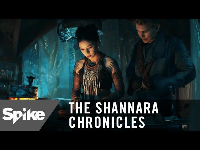 'You Can Read Druid?' Ep. 207 Official Clip   The Shannara Chronicles (Season 2)