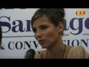 Elsa Pataky presentó Santos en Chile