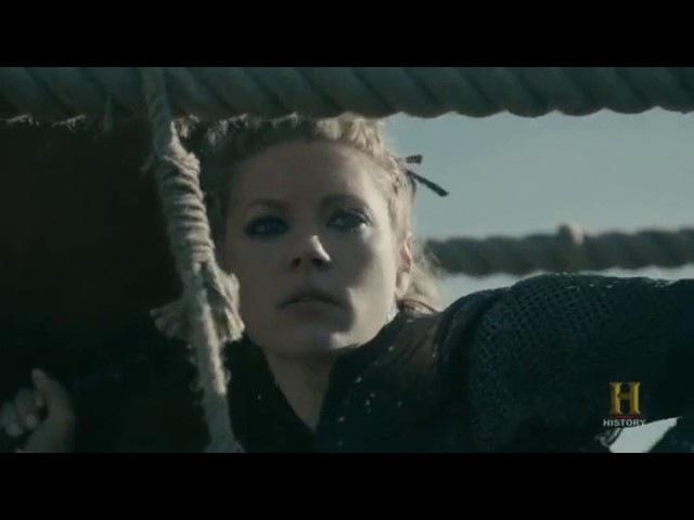 Lagertha defiende Kattegat, Vikings 4x19