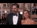 Joe Manganiello Sofia Vergara SAG Awards Arrivals 2016