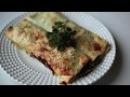 Cannelloni al forno con vitello e spinaci Italy EU, Каннеллони с телятиной и шпинатом Италия