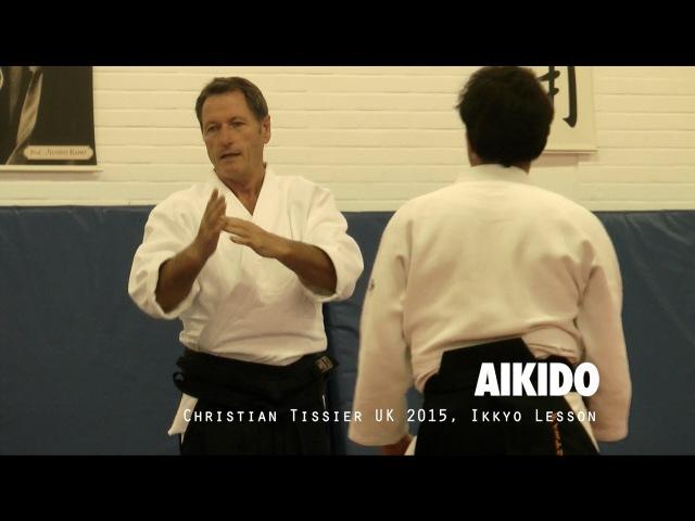 Aikido: Christian Tissier UK 2015 Ikkyo Lesson
