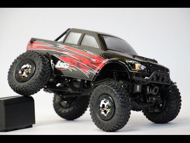 Радиоуправляемая модель, краулер! Лось! Losi Micro Trail Trekker 4WD