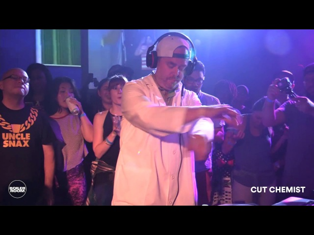 Cut Chemist Boiler Room Oakland DJ Set